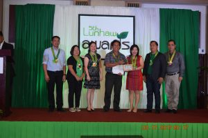 5th LUNHAW Awards: DA Undersecretary Villano calls for a More Purposive Organic Farming Role towards a Healthy Davao